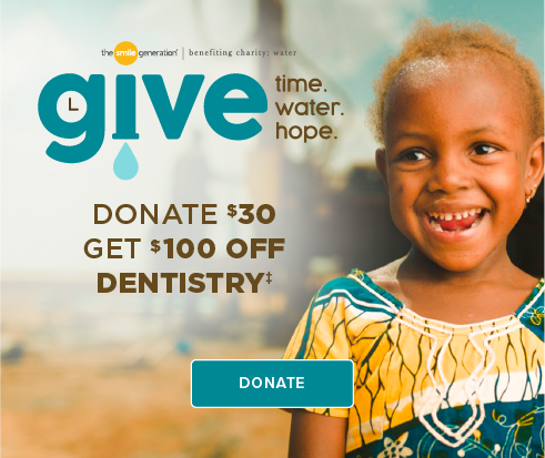 Donate $30, Get $100 Off Dentistry - Wildwood Dentists